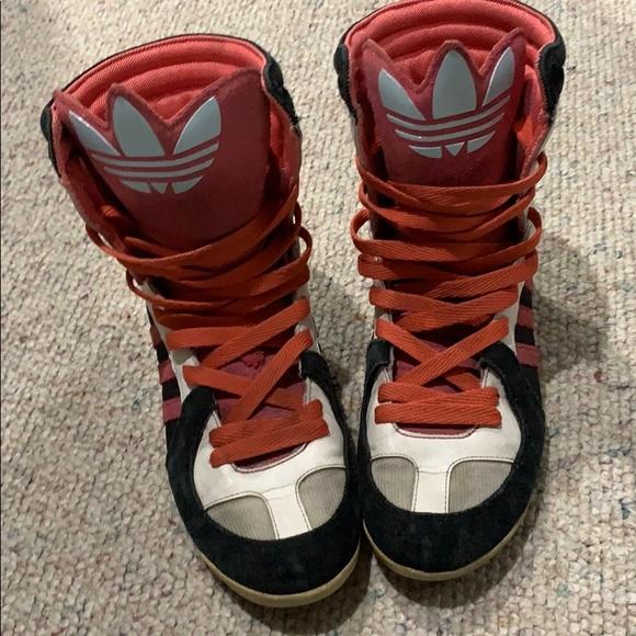 adidas Shoes - Adidas Trefoil Jeremy Scott Sneakers 💥